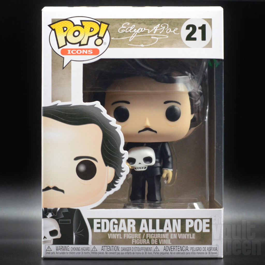 Funko POP! Icons Edgar Allan Poe (with Skull) #21 Pop! Funko