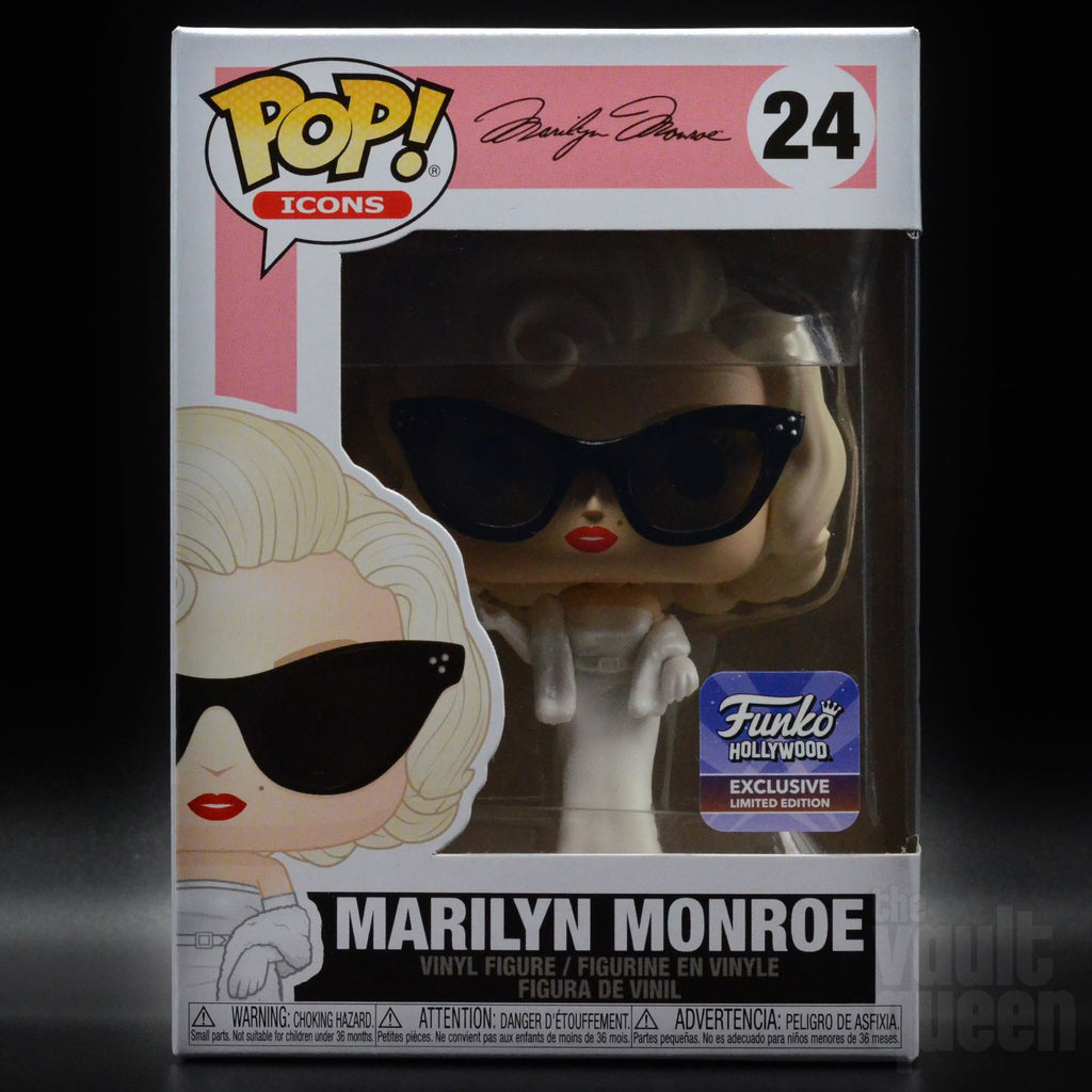 Funko Pop! Icons Marilyn Monroe #24 Funko Hollywood Grand Opening Exclusive Pop! Funko