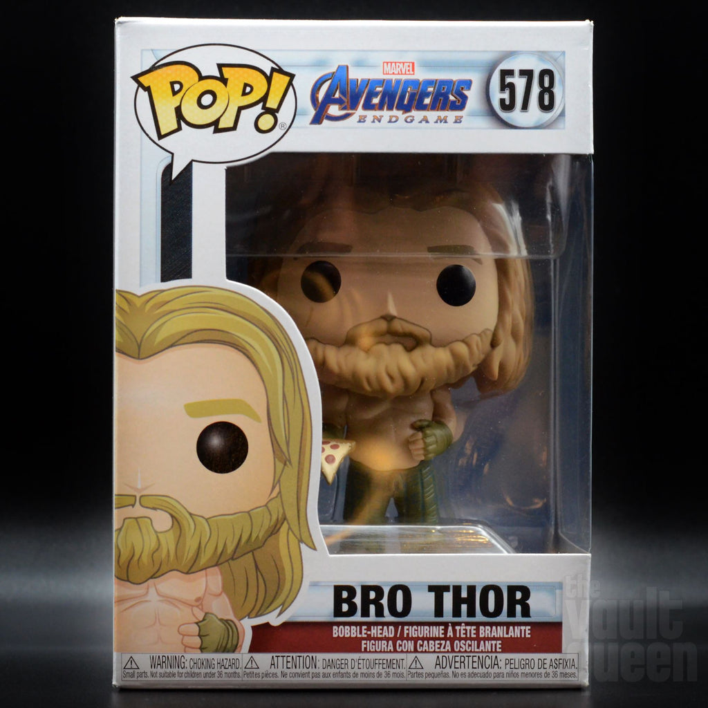 Funko POP! Marvel: Bro Thor w/ Pizza #578 Avengers: Endgame Pop! Funko