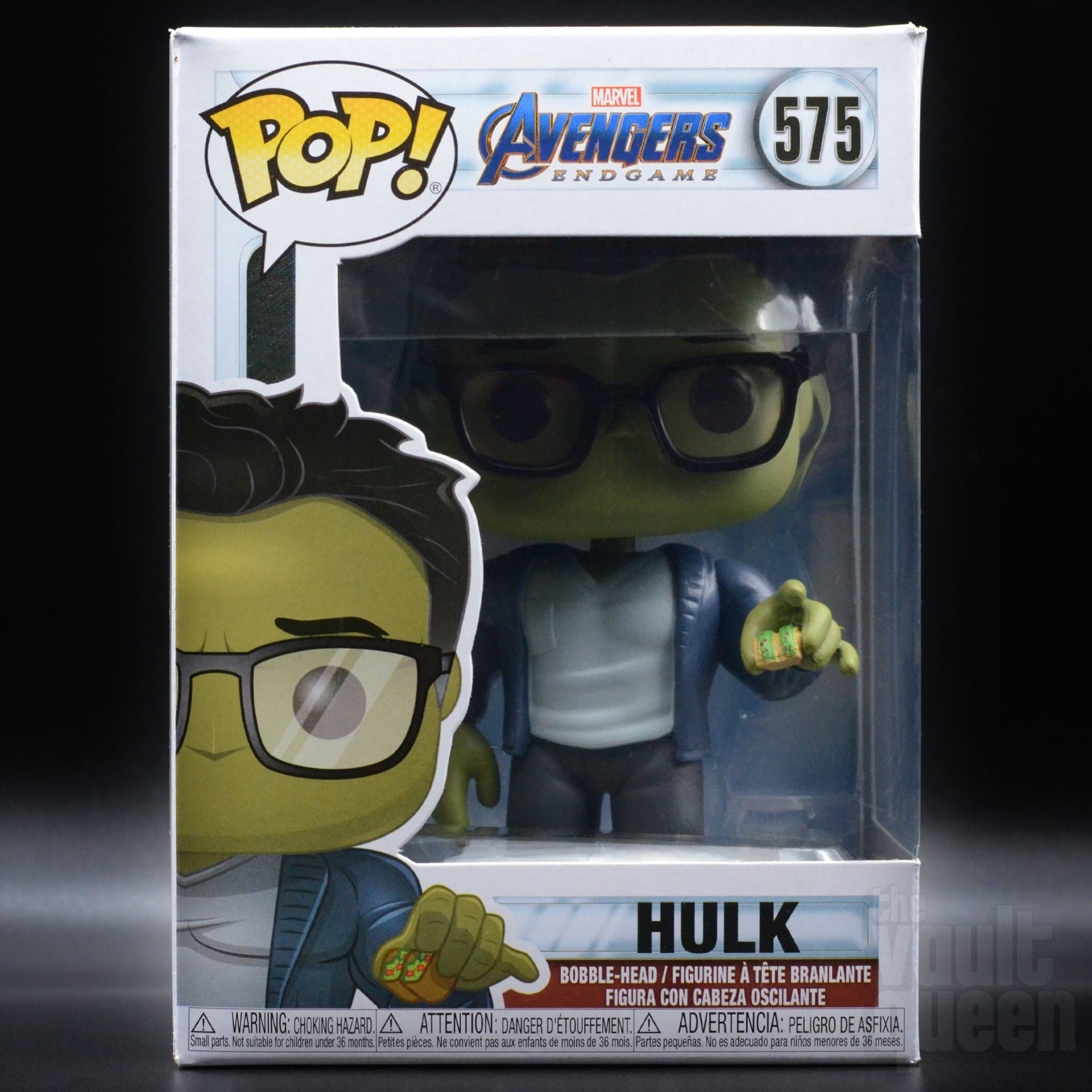 Funko Hulk w //Taco Brand New In Box POP Marvel Endgame