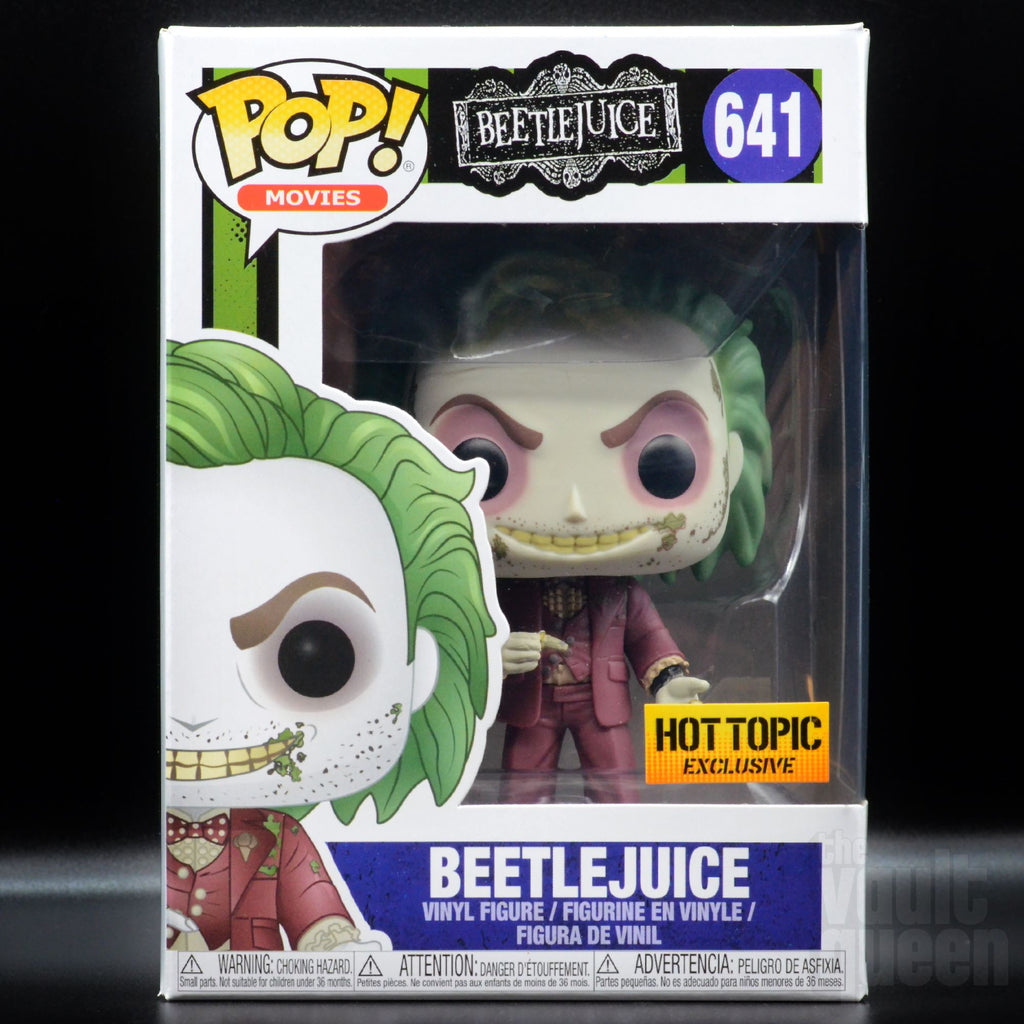 Funko Pop! Movies Beetlejuice (Groom) #641 Hot Topic Exclusive Pop! Funko
