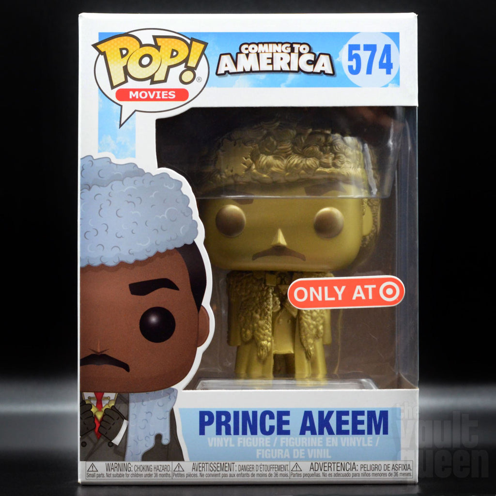 Funko POP! Movies: Coming to America - Prince Akeem Joffer (Gold) #574 Target Exclusive Pop! Funko