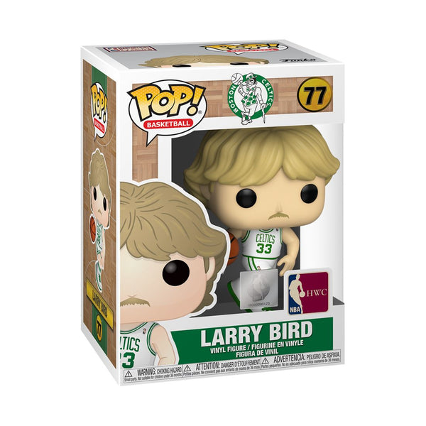 Funko Pop! NBA Legends: Larry (Home Jersey) Boston Celtics #77 Pop! Funko