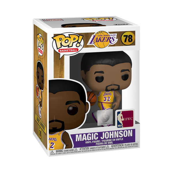 Funko POP! NBA Legends: Magic Johnson (Home Jersey) Los Angeles Lakers #78 Pop! Funko