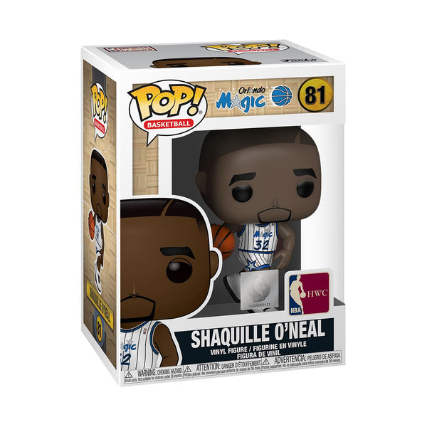 Funko Pop! NBA Legends: Shaquille O'Neal (Home Jersey) Orlando Magic #81 Pop! Funko