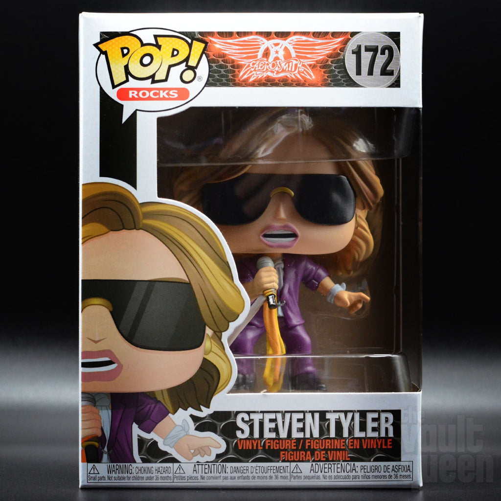 Funko POP! Rocks: Aerosmith - Steven Tyler 3172 Pop! Funko