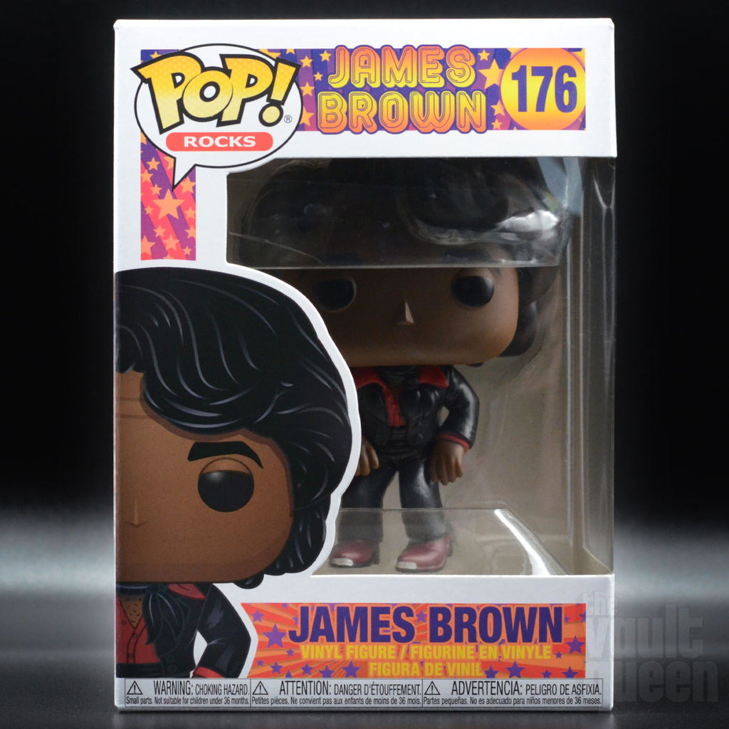 Funko POP! Rocks: James Brown #176 Pop! Funko