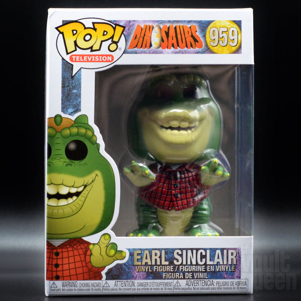 Funko POP! Television: Dinosaurs - Earl Sinclair #959 Pop! Funko