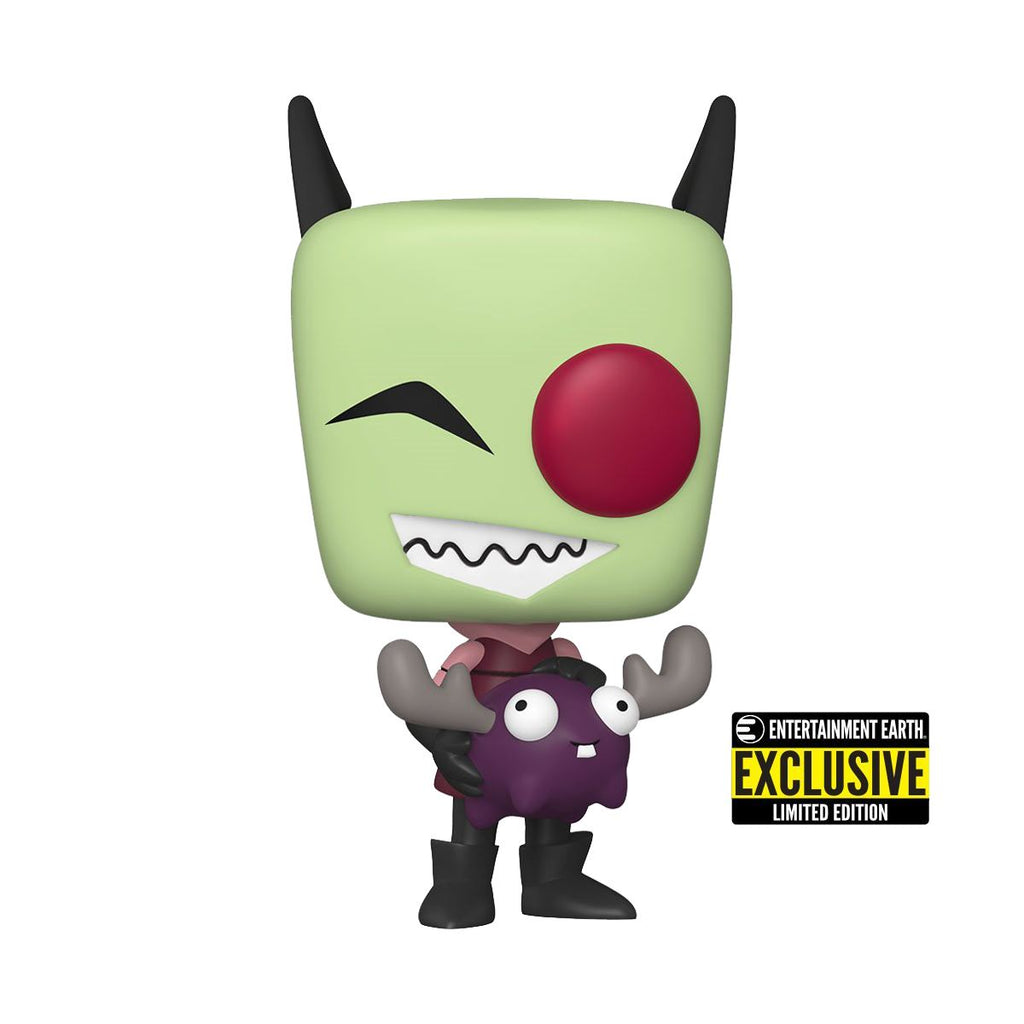 Funko Pop! Television: Invader Zim - Zim with Minimoose #1016 SDCC 2020 Entertainment Earth Shared Exclusive Pop! Funko