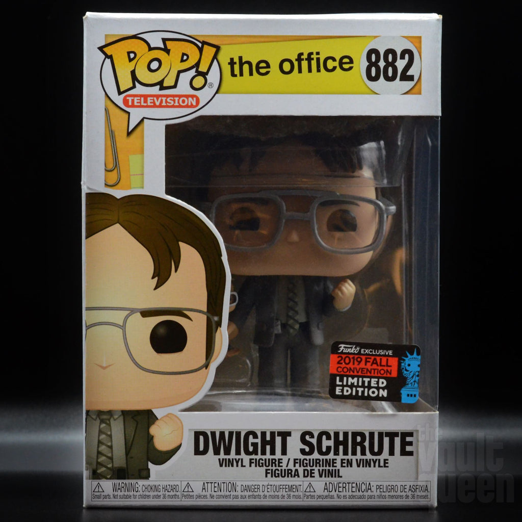 Funko POP! Television: The Office - Dwight Schrute with Bobblehead New York Comic Con NYCC 2019 Amazon Shared Exclusive Pop! Funko