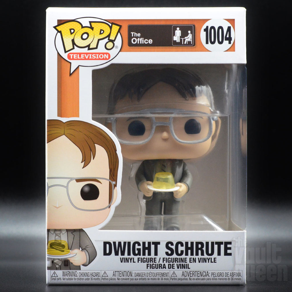Funko Pop! Television: The Office - Dwight w/ Jello Stapler 1004 Pop! Funko