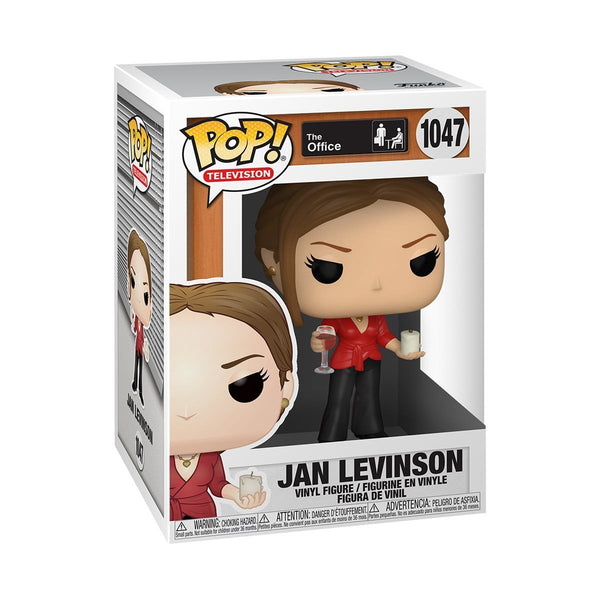 Funko Pop! Television: The Office - Jan Levinson w/ Wine & Candle #1047 [PRE-ORDER] Pop! Funko