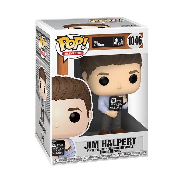 Funko Pop! Television: The Office - Jim Halpert w/ No Nonsense Sign #1046 [PRE-ORDER] Pop! Funko