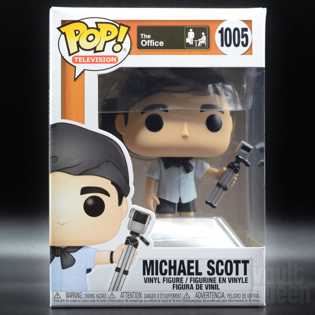 Funko Pop! Television: The Office - Michael (Survivor) #1005 Pop! Funko