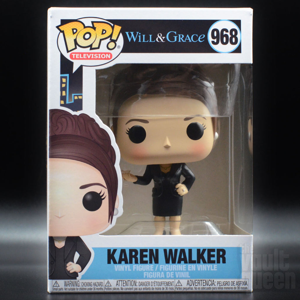 Funko POP! Television: Will & Grace - Karen Walker #968 Pop! Funko