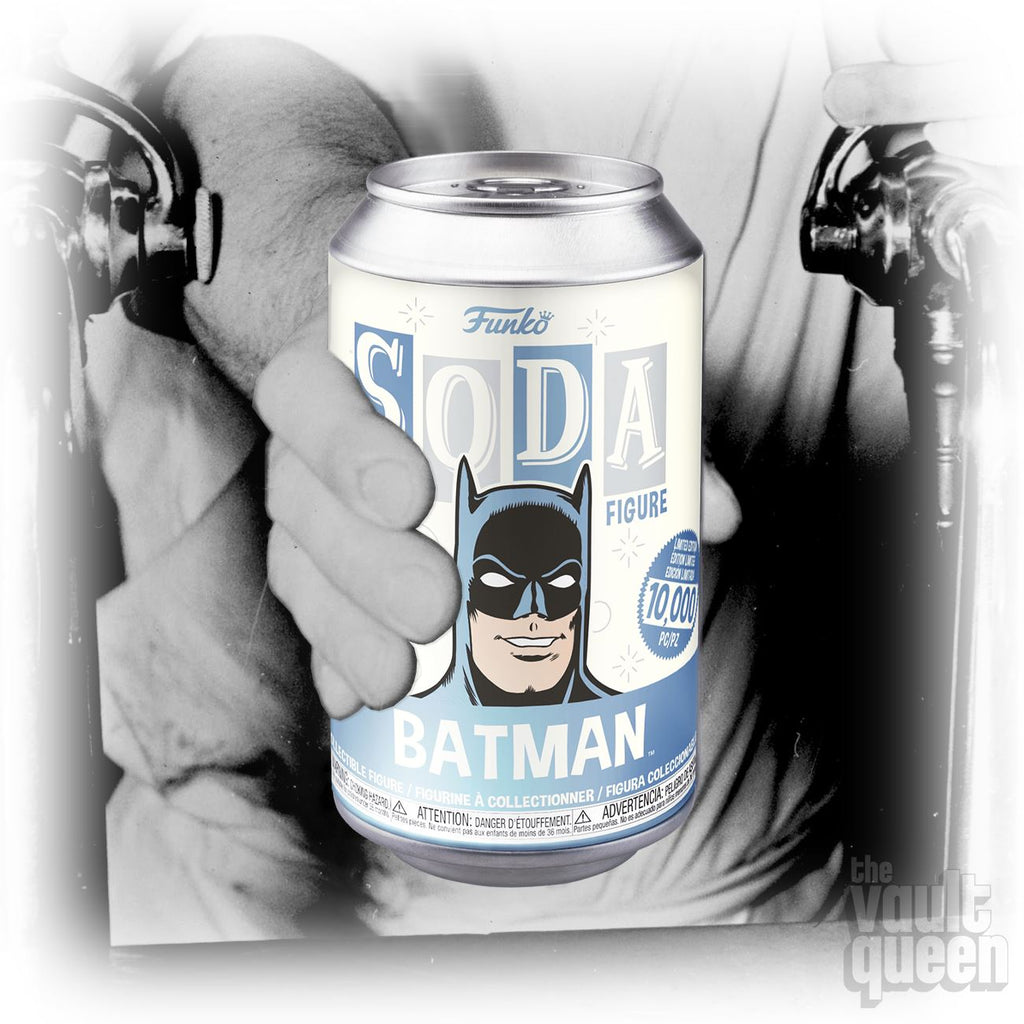 Funko Vinyl SODA: Batman - 1:6 Chance at a Chase! LE10000 Vinyl SODA Funko