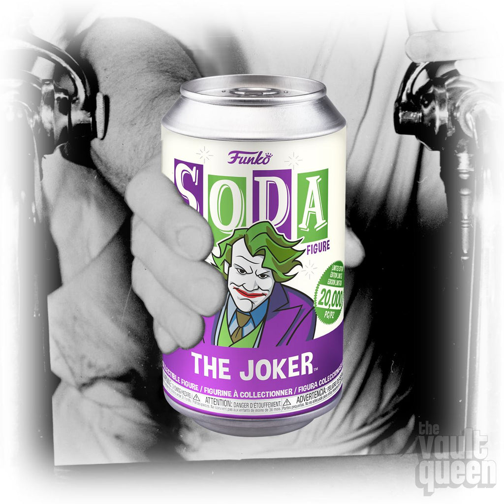 Funko Vinyl SODA: The Dark Knight - Joker - 1:6 Chance at a Chase! LE20000 Vinyl SODA Funko