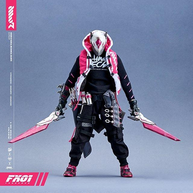 FX01 1/6 Scale Action Figure by chk_dsk x Devil Toys x Quiccs 1/6 Scale Action Figure Devil Toys