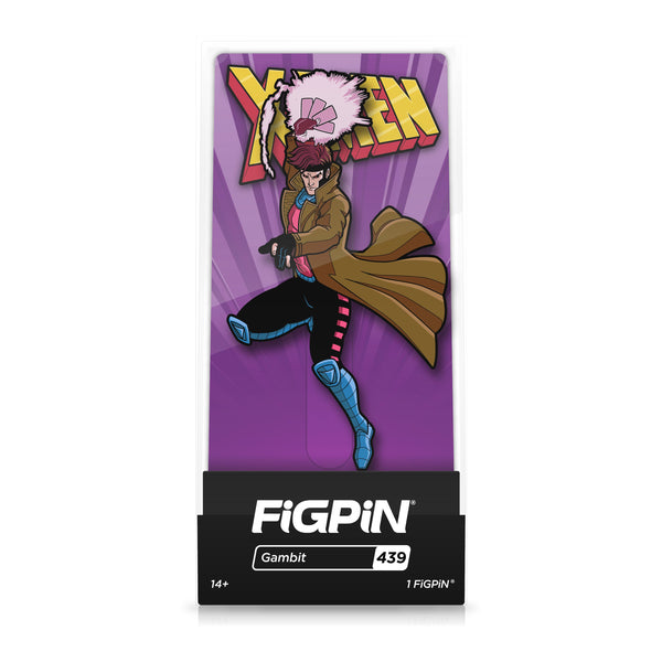 Gambit #439 X-Men: The Animated Series FiGPiN Classic [PRE-ORDER] FiGPiN Classic FiGPiN