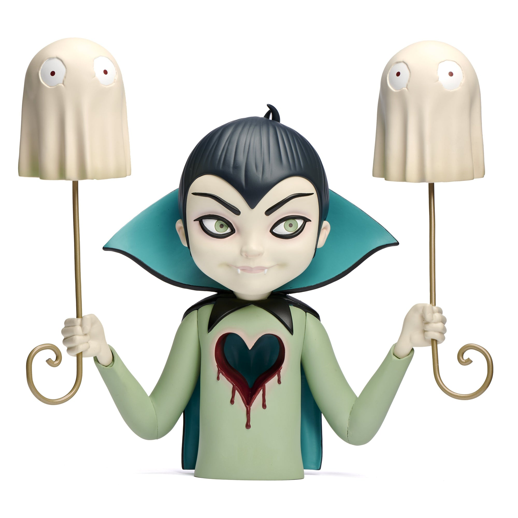George's Halloween Portrait Vinyl Art Toy by Tara McPherson x Martian Toys George's Halloween Portrait Martian Toys