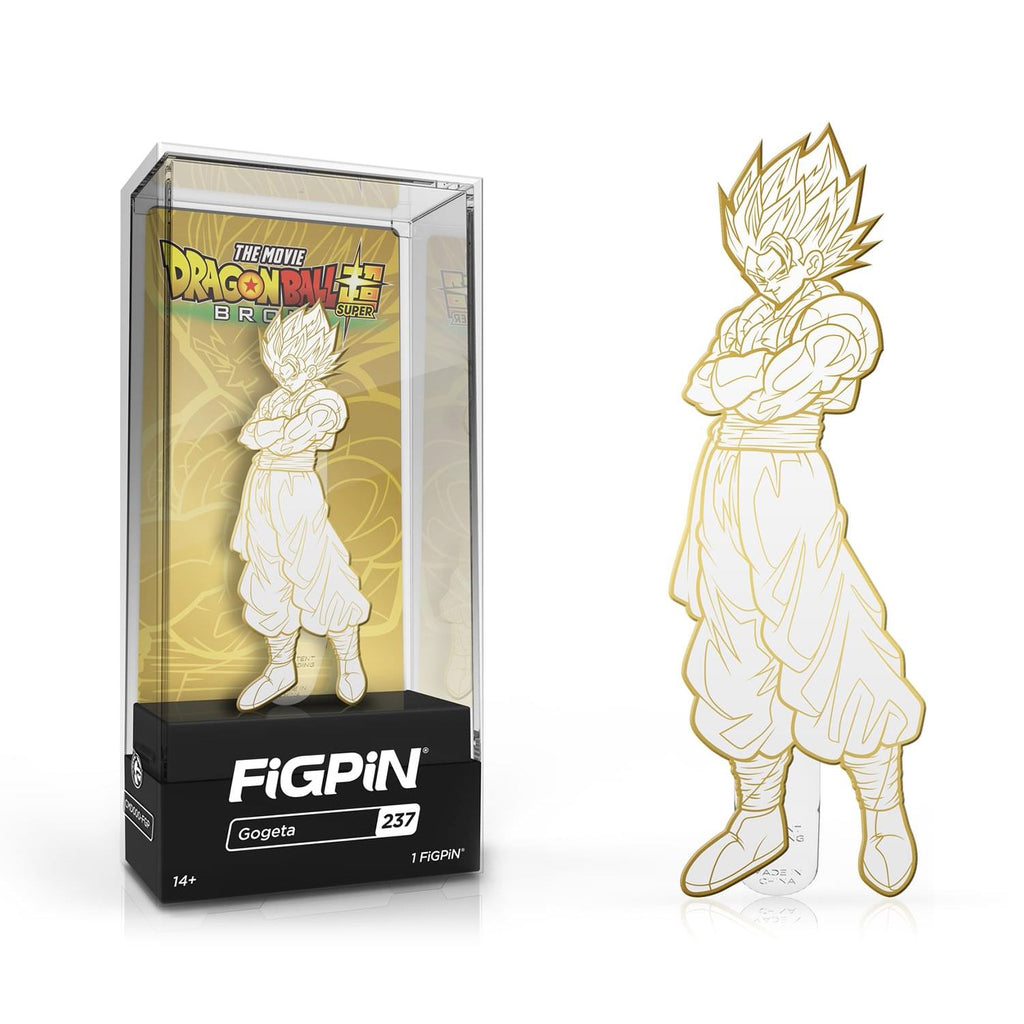 Gogeta #237 [Gold/White] Dragon Ball Super Broly Movie FiGPiN Classic FiGPiN Classic FiGPiN