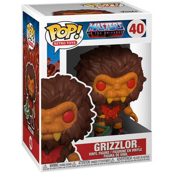 Grizzlor #40 Masters of the Universe Funko POP! Retro Toys Pop! Funko