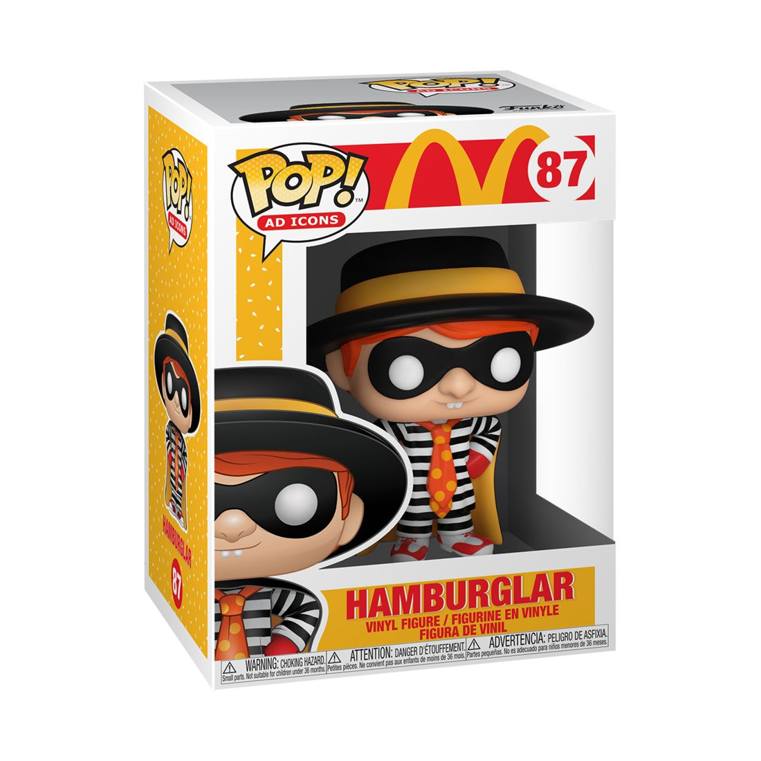 Hamburglar #87 McDonalds Funko POP! Ad Icons [PRE-ORDER] Pop! Funko