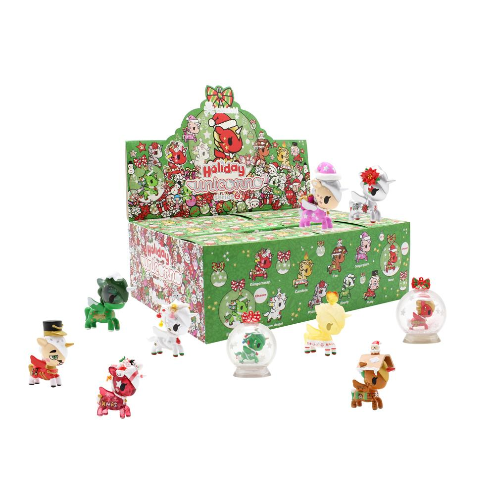Holiday Unicorno Blind Box Series 2 by tokidoki Blind Box tokidoki Display Case of 12