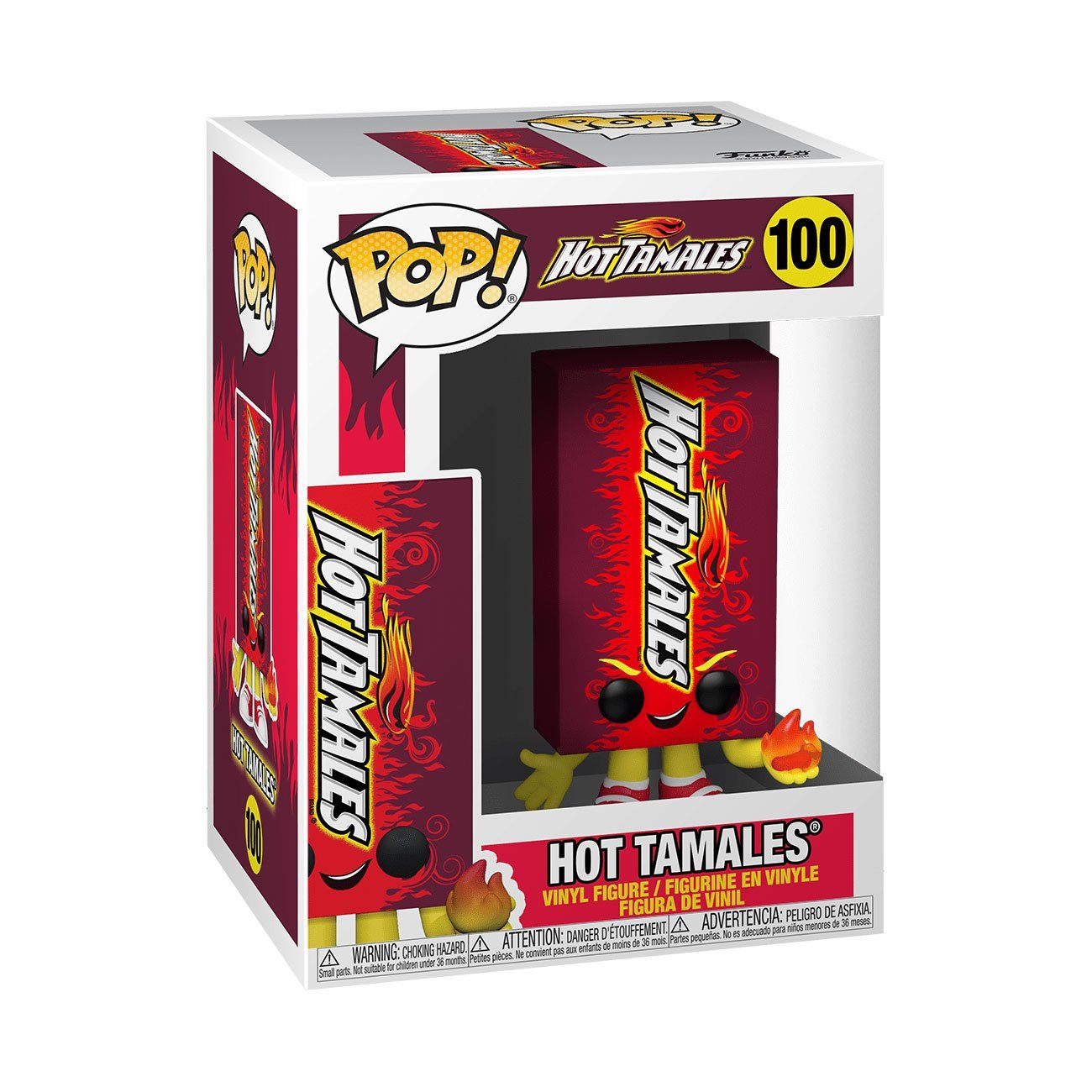 Hot Tamales Candy #100 Funko POP! Ad Icons [PRE-ORDER FOR ESTIMATED SUMMER 2021* DELIVERY] POP! Funko