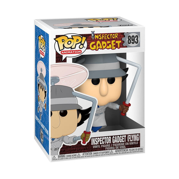 Inspector Gadget (Flying) #893 Funko Pop! Animation [PRE-ORDER] Pop! Funko