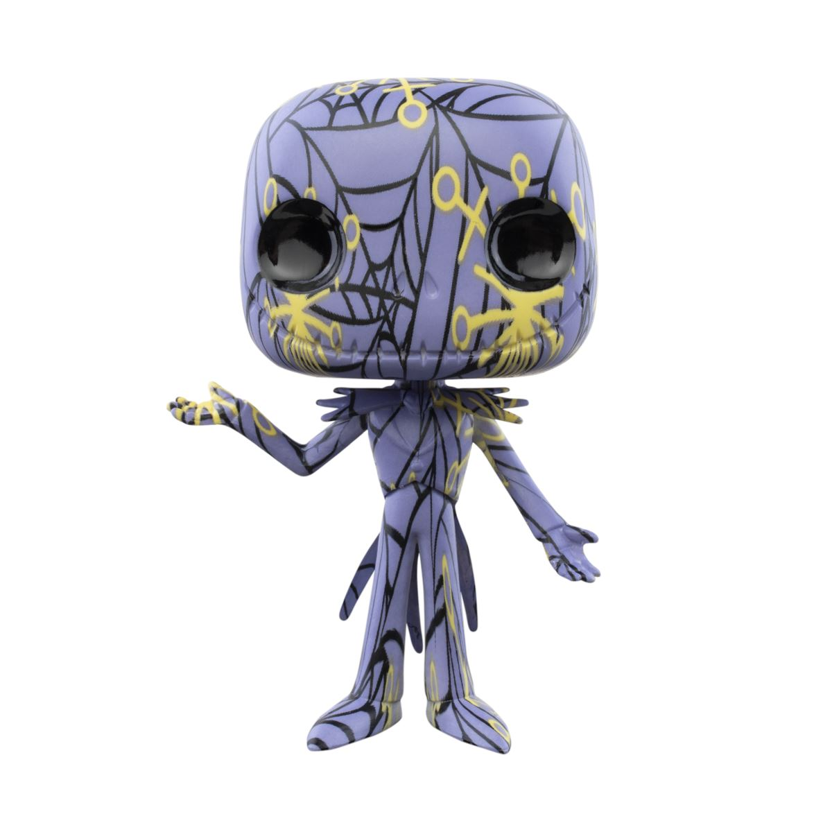 Jack Skellington Artist Series #05 - Comes with Funko POP! Stack! - Nightmare Before Christmas Funko Pop! Disney Pop! Funko
