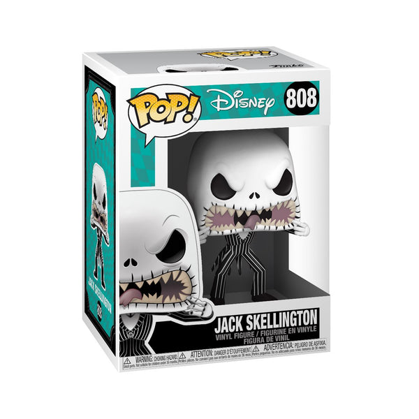 Jack Skellington (Scary Face) #808 Nightmare Before Christmas Funko Pop! Disney Pop! Funko
