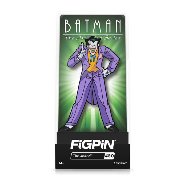 Joker #480 Batman: The Animated Series FiGPiN Classic [PRE-ORDER] FiGPiN Classic FiGPiN