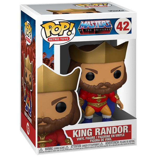 King Randor (Metallic) #42 Masters of the Universe Funko POP! Retro Toys Pop! Funko