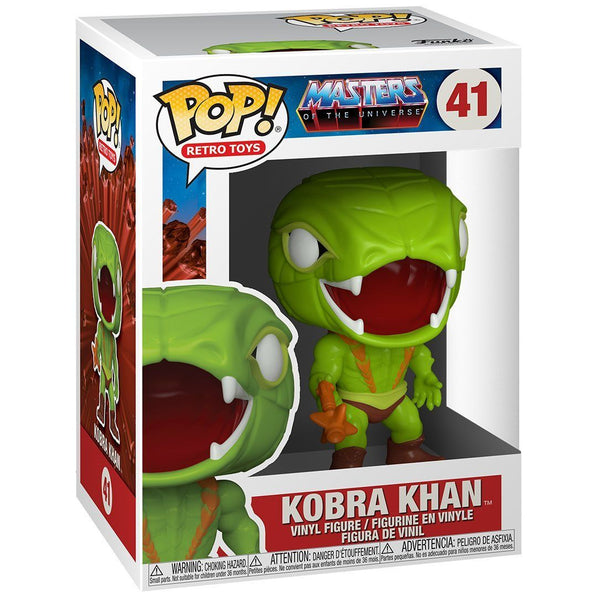 Kobra Khan #41 Masters of the Universe Funko POP! Retro Toys Pop! Funko