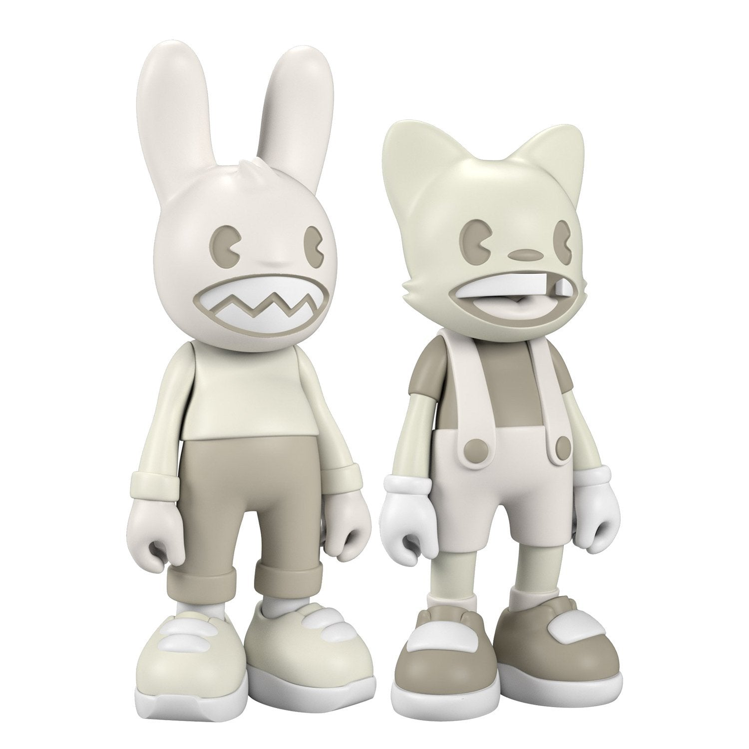 "Lil' Helpers Glow Janky & Guggimon Set of 14"" Vinyl Figures by Superplastic 14-inch Vinyl Figure Superplastic"