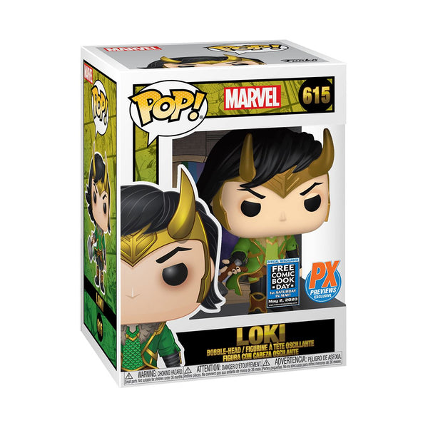 Marvel Funko Loki Pop! Mystery Box - Free Comic Book Summer 2020 - Previews Exclusive [PRE-ORDER - SHIPS IN AUGUST!] Mystery Box Funko