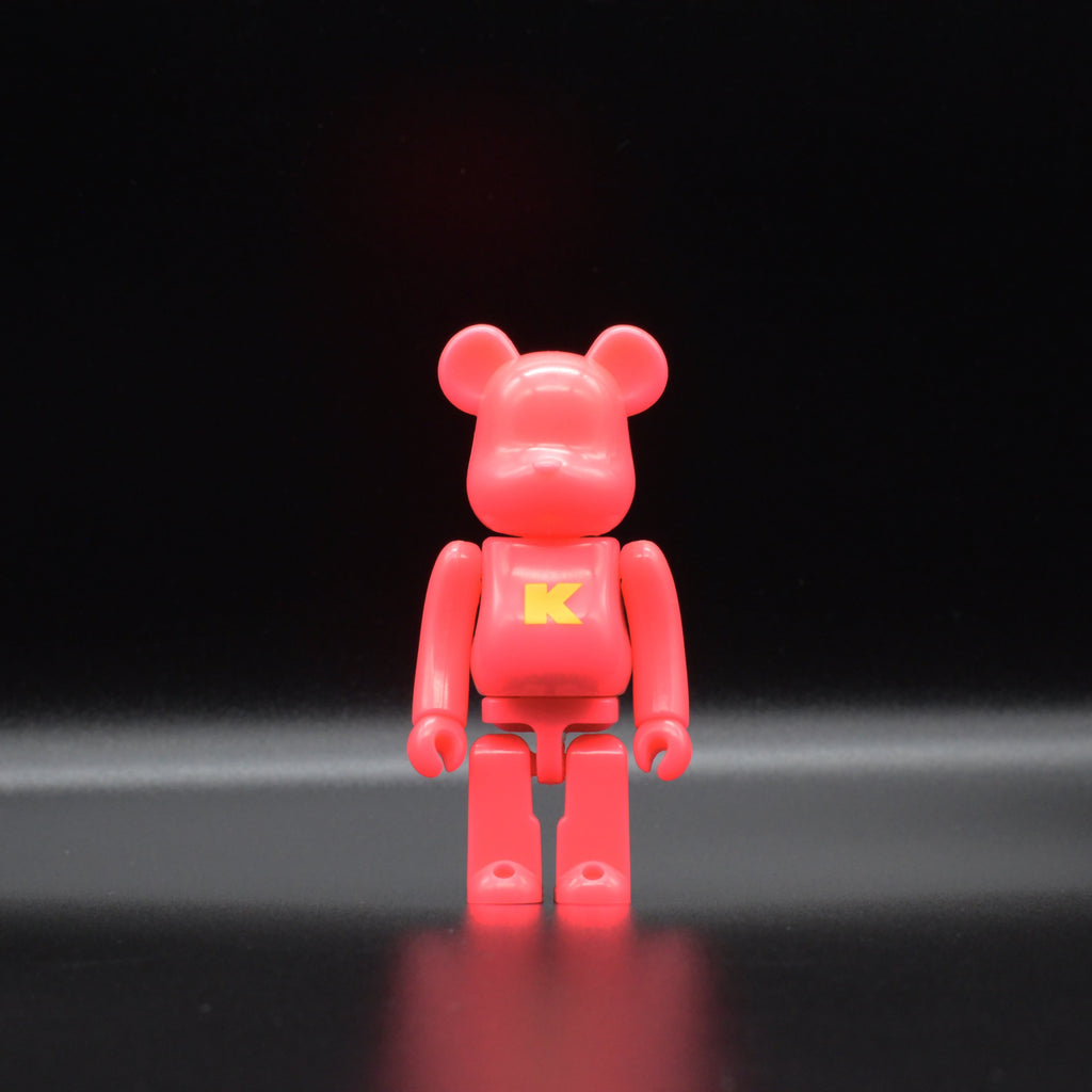 "Medicom Toy BE@RBRICK Basic Letter ""K"" Series 37 100% BE@RBRICK 100% Medicom Toy"