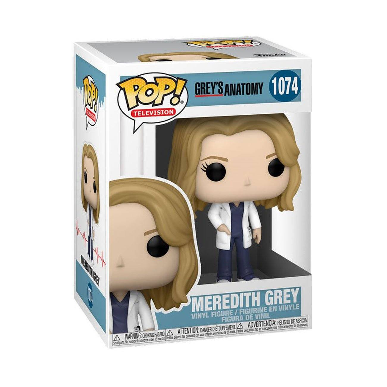 Meredith Grey #1074 Grey's Anatomy Funko POP! TV [PRE-ORDER FOR JAN 2021* DELIVERY] POP! Funko