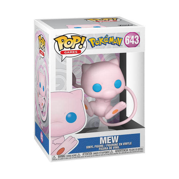 Mew #643 Pokemon Funko POP! Games [PRE-ORDER FOR MAR 2021* DELIVERY] POP! Funko