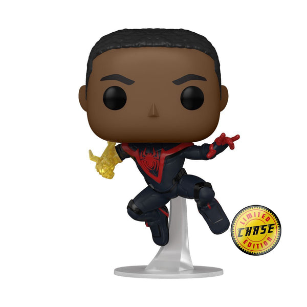 Miles (Classic Suit) GUARANTEED CHASE BUNDLE Marvel's Spider-Man Miles Morales Funko POP! Games [PRE-ORDER FOR JAN 2021* DELIVERY] POP! Funko