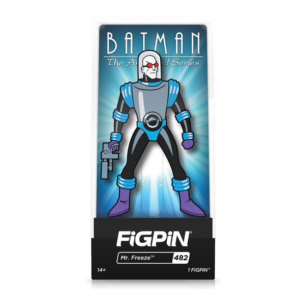 Mr. Freeze #482 Batman: The Animated Series FiGPiN Classic Limited Edition LE2000 [PRE-ORDER] FiGPiN Classic FiGPiN