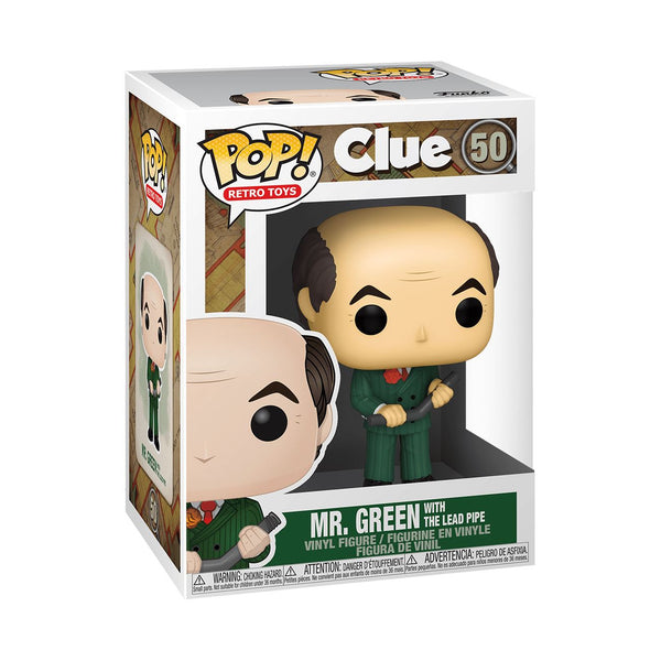 Mr. Green with Lead Pipe #50 Clue Funko POP! Retro Toys [PRE-ORDER] Pop! Funko
