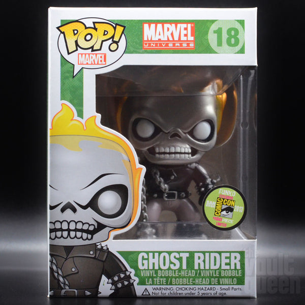 MYSTERY BOX: Marvel! Prizes include Ghost Rider (2 Metallic & 1 GITD), Flocked Beast, Cheerleader Deadpool (Pink Glitter) & many more! Mystery Box VLTD