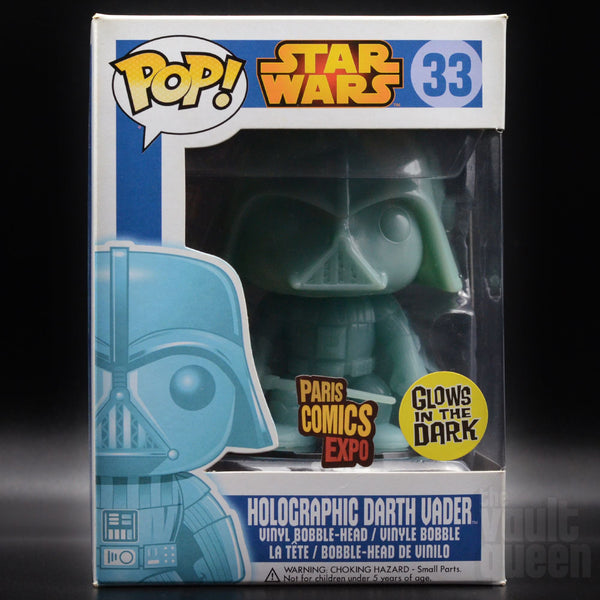MYSTERY BOX: Star Wars! Includes Holographic Darth Vader, NYCC Qui Gon Jinn, SDCC Leia Boushh Unmasked & more! Mystery Box VLTD
