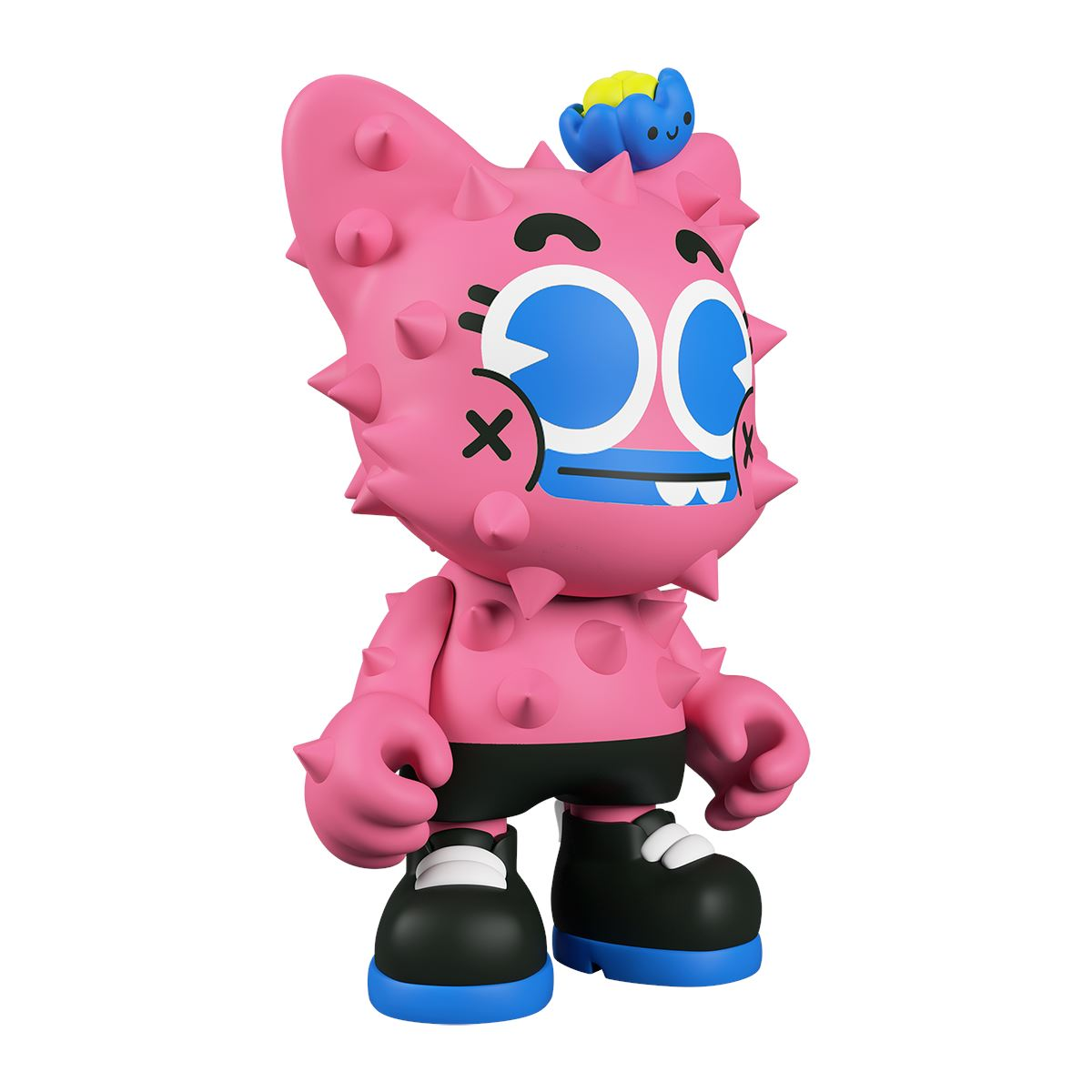 "Nopalito SuperJanky ""Prickle Me Pink"" Edition by EGC & Superplastic 8-inch Vinyl Toy Superplastic"