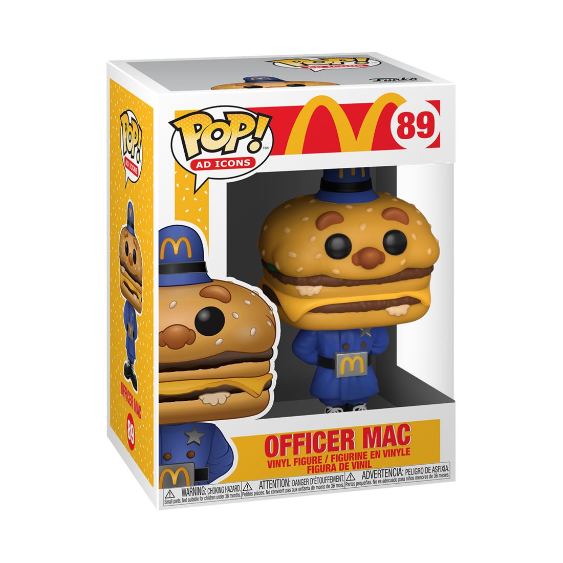 Officer Big Mac #89 McDonalds Funko POP! Ad Icons [PRE-ORDER] Pop! Funko