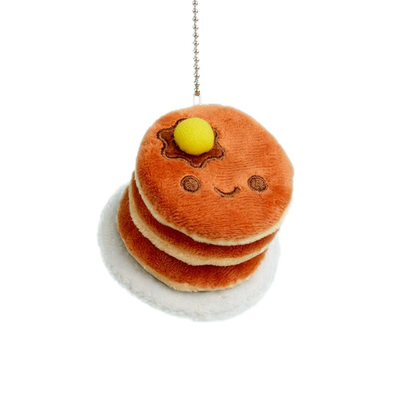 Pancakes Plush Charm by 100% Soft Plush 100% Soft