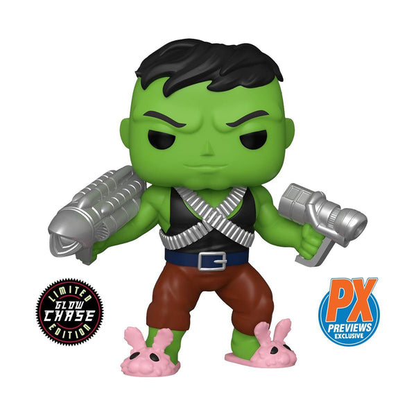 Professor Hulk - GUARANTEED CHASE - PX Exclusive #705 Marvel 6-inch Super-Sized Funko POP! [PRE-ORDER FOR DEC 2020* DELIVERY] POP! 6-inch Funko