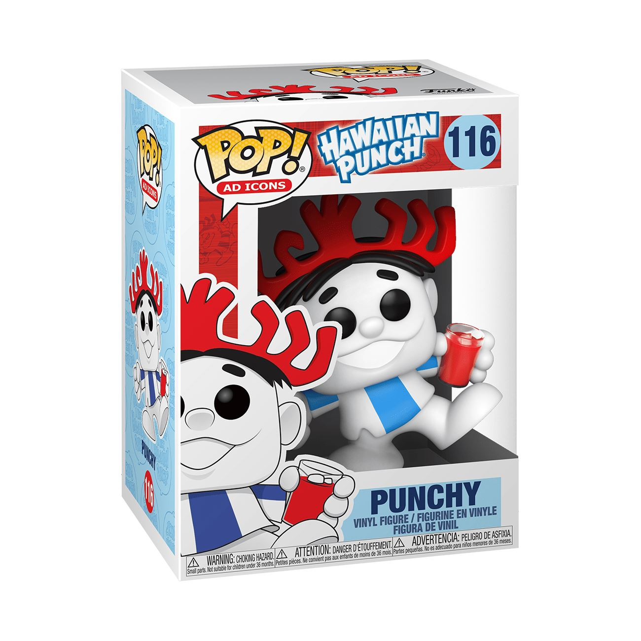 Punchy#116 Hawaiian Punch Funko POP! Ad Icons [PRE-ORDER] Pop! Funko